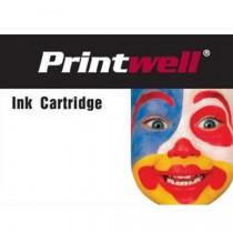 Printwell 650 CZ101AE#302 inkoustová kazeta NEW CHIP, barva náplně černá, 1250 stran