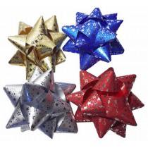 Rozeta 11cm hvězdy mix