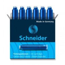 Inkoustové bombičky Schneider, 6 ks koňakové