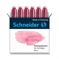 Inkoustové bombičky Schneider, 6 ks růžové