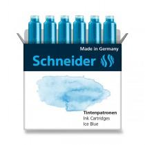 Inkoustové bombičky Schneider, 6 ks ledová modrá