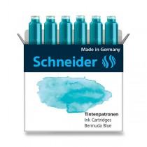 Inkoustové bombičky Schneider, 6 ks oceánová modrá
