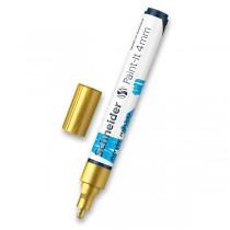 Akrylový popisovač Schneider Paint-It 320 zlatá