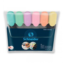 Zvýrazňovač Schneider Job Pastel sada 6 barev