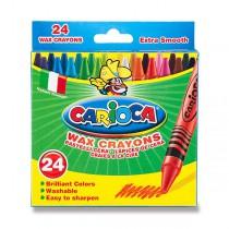 Voskovky Carioca Wax Crayon 24 barev