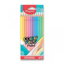 Pastelky Maped Color´Peps Pastel 12 barev