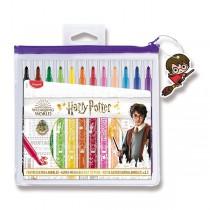 Dětské fixy Maped Color´Peps Harry Potter 12 barev, pouzdro na zip