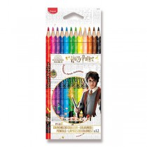 Pastelky Maped Color´Peps Harry Potter 12 barev