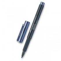 Popisovač Faber-Castell Metallics tmavě modrá