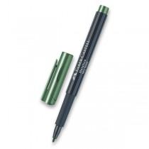 Popisovač Faber-Castell Metallics zelená