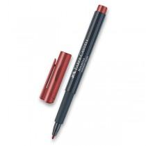 Popisovač Faber-Castell Metallics červená