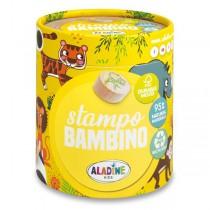 Razítka Aladine Stampo Bambino Safari, 8 ks