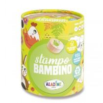 Razítka Aladine Stampo Bambino Farma, 8 ks