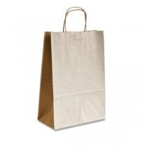 Dárková taška Natura Pois bílá