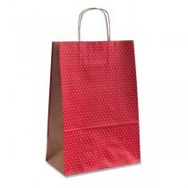 Dárková taška Natura Pois červená