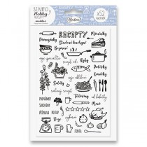 Razítka Stampo Hobby - Moje recepty 52 ks