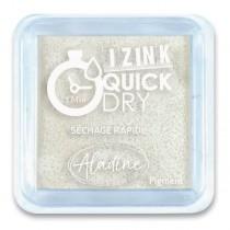 Razítkovací polštářek Aladine Izink Quick Dry bílá