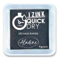 Razítkovací polštářek Aladine Izink Quick Dry černá