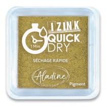 Razítkovací polštářek Aladine Izink Quick Dry zlatá