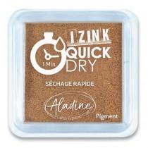 Razítkovací polštářek Aladine Izink Quick Dry měděná