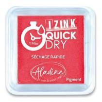 Razítkovací polštářek Aladine Izink Quick Dry červená