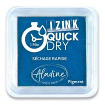 Razítkovací polštářek Aladine Izink Quick Dry modrá