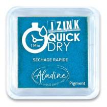 Razítkovací polštářek Aladine Izink Quick Dry tyrkysová