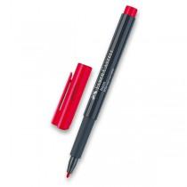 Popisovač Faber-Castell Neon červená