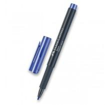 Popisovač Faber-Castell Neon modrá