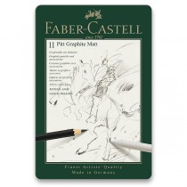 Grafitová tužka Faber-Castell Pitt Graphite Matt sada 11 ks