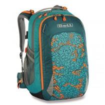 Školní batoh Boll Smart Artwork 24 Fish teal