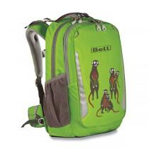 Školní batoh Boll School Mate Artwork 20 Meerkats lime