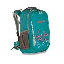 Školní batoh Boll School Mate Artwork 20 Flamingos turquoise