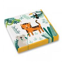 Papírové ubrousky Get Wild 33 x 33 cm, 16 ks