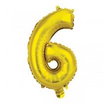 Nafukovací číslice 6