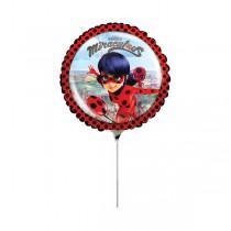 Fóliový party balónek kulatý Miraculous