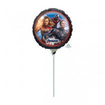 Fóliový party balónek kulatý Avengers Endgame