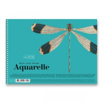 Skicák Shkolyaryk Muse Aquarelle A4, 20 listů