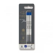 Náplň Parker QuinkFlow do kuličkové tužky M, modrá, 3 ks