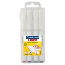 Liner CENTROPEN 2811 F - sada, 4ks