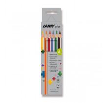Lamy plus pastelky, 6 barev