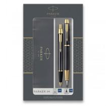 Parker IM Black GT sada plnicí pero a kuličková tužka
