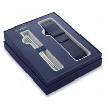 Waterman Hémisphère Stainless Steel CT kuličková tužka, dárková sada s pouzdrem