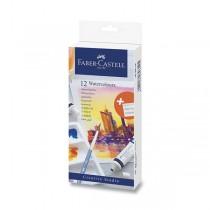 Akvarelové barvy Faber-Castell 12 barev, tuba 9 ml