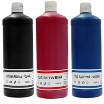 Tuše barevné jednotlivé barvy - 1000g