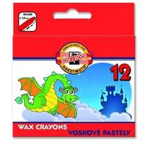 Voskovky Koh-i-noor 8232 - 12ks, kulaté