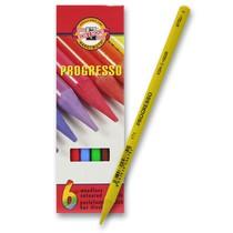 Pastelky Koh-i-noor Progresso 8755 - 6 barev