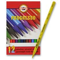 Pastelky Koh-i-noor Progresso 8756 - 12 barev