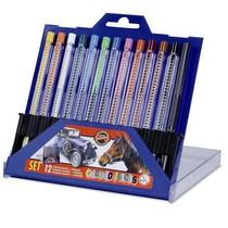 Souprava mechanických pastelek Koh-i-noor 4012 - 12 barev