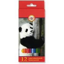 Pastelky Koh-i-noor 3552 - 12 barev, dlouhé